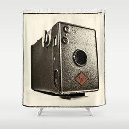 Agfa Box  Shower Curtain