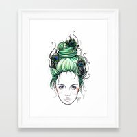 pride Framed Art Prints featuring Pride by Nora Bisi