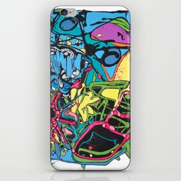 Abstract #5 iPhone Skin