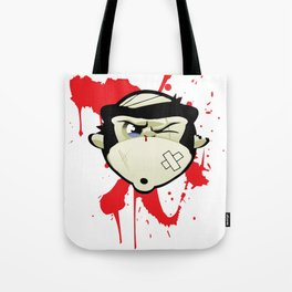 Dojo Monkey - Lover not a Fighter Tote Bag