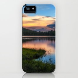 Dreaming Juanita Lake in Northen California iPhone Case