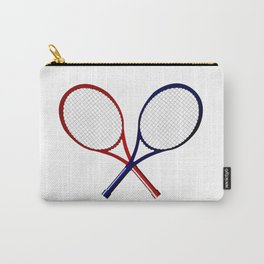 Crossed Rackets Carry-All Pouch
