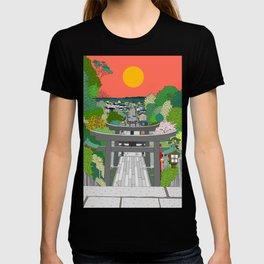 Passage to Light - Miyajidake Shrine T-shirt