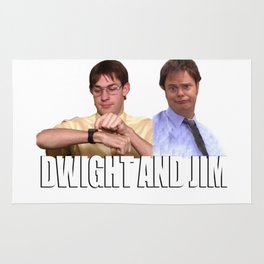The Office Dwight and Jim Rug