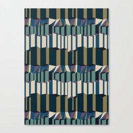 Straight Geometry City 2 Canvas Print