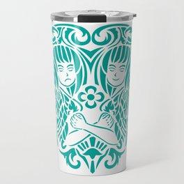 gemini siam style Travel Mug