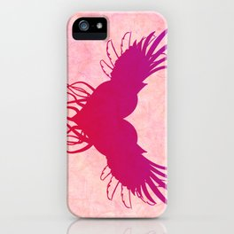 Give wings to my heart iPhone Case
