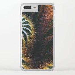 Botanical Gardens Cactus #667 Clear iPhone Case