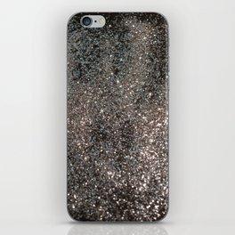 Silver Glitter #1 #decor #art #society6 iPhone Skin