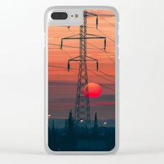 Any Minute Now Clear iPhone Case