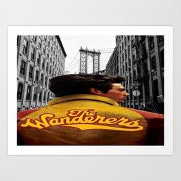 Wanderers Member Jacket Art Print