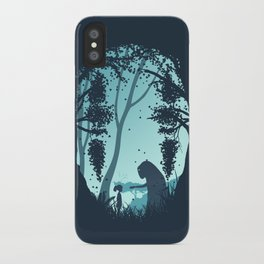 Lonely Spirit Spirited Away iPhone Case