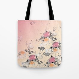 ombre floral - all Tote Bag