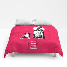 Dog Enslaved the Queen Comforters