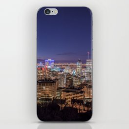 Montreal Night Moves iPhone Skin