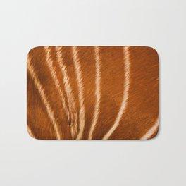 Safari Antilope Fur Texture Bath Mat