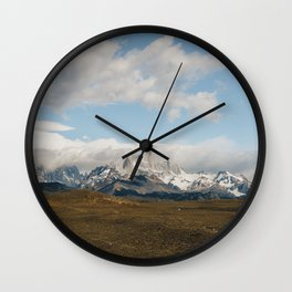 Iconic Towers of Patagonia Wall Clock