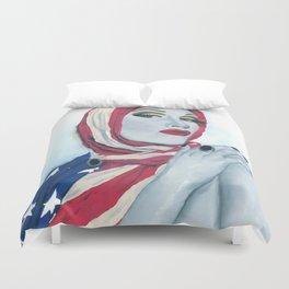 American Ladyboy Duvet Cover