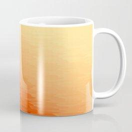 Orange Texture Ombre Coffee Mug