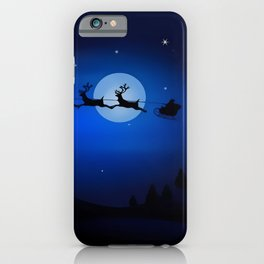 Xmas Night iPhone Case