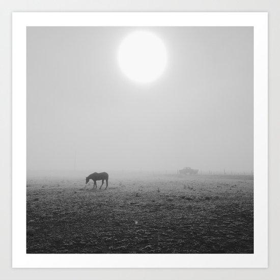 Penrose Fog Art Print