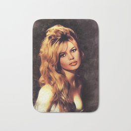 Brigitte Barot, Actress Bath Mat