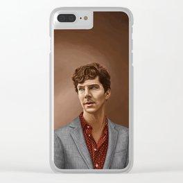 Benedict Cumberbatch Clear iPhone Case