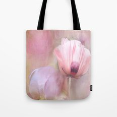 Poppy and Peony Tote Bag