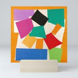 Henri Matisse - The Snail cut-out series portrait painting Mini Art Print
