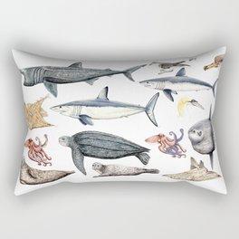 Marine wildlife Rectangular Pillow