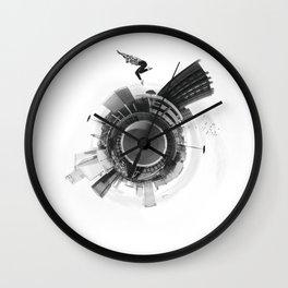 metropolitan circle Wall Clock