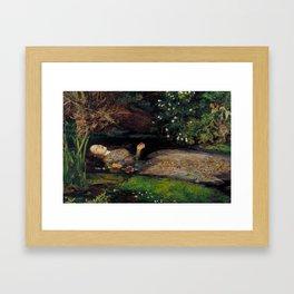 John Everett Millais Ophelia Painting Framed Art Print