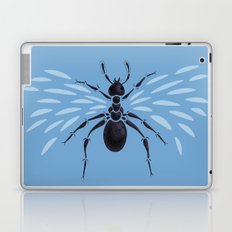 Weird Abstract Flying Ant Laptop & iPad Skin