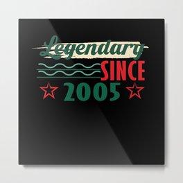 16th birthday, birthday, 16th Metal Print