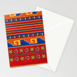 Red Mexico Stationery Cards