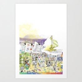 you're COLOR - Page 5 Art Print