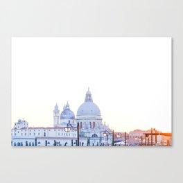Venice at Sunset Venice Italy Canvas Print