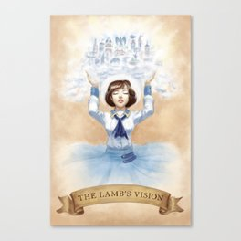 The Lamb's Vision Canvas Print