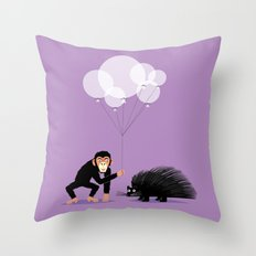 The Inappropriate Gift  (colour variation) Throw Pillow