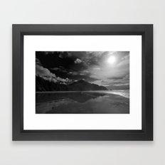 Oregon Cove Framed Art Print