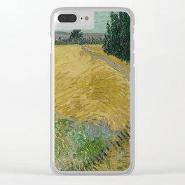 Wheatfield Clear iPhone Case