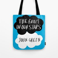tfios Tote Bags featuring TFiOS by Hoeroine