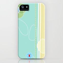 izzy may's garden iPhone Case