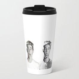 Nash Grier and Cameron Dallas Travel Mug