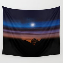 Big Bend Moon Wall Tapestry