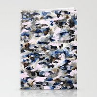 camo Stationery Cards featuring Camo by Josie Stevenson