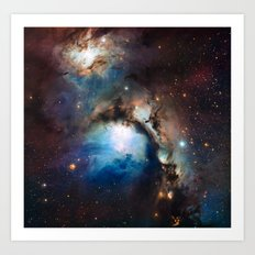 Reflection Nebula in Orion Art Print