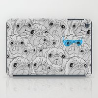 hot dog iPad Cases featuring Hot Dog by jublin