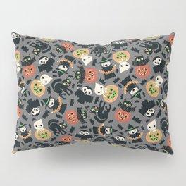 Halloween Gang grey Pillow Sham