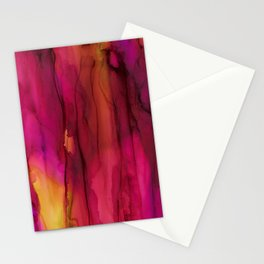 Cascading Color Stationery Cards
